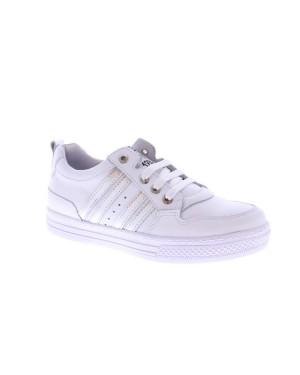 Piedro Kinderschoenen 1117800910 wit zilver