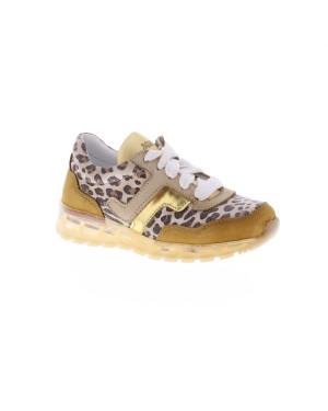 Jochie-Freaks Kinderschoenen 20300 cognac leopard