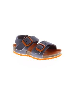 Birkenstock Kinderschoenen New York grijs smal