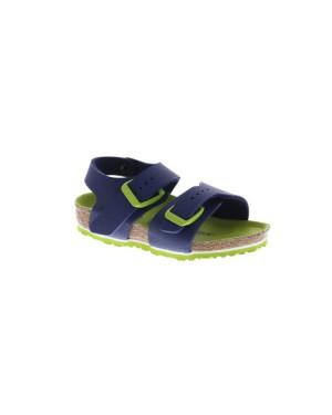 Birkenstock Kinderschoenen New York blauw smal