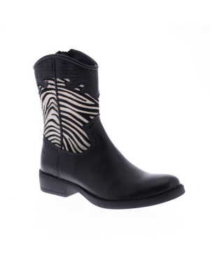 GiGa Kinderschoenen G3494 zwart zebra