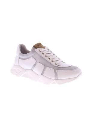 AQA Kinderschoenen A7721 wit grijs