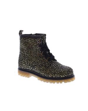 Gattino Kinderschoenen G1037 zwart print