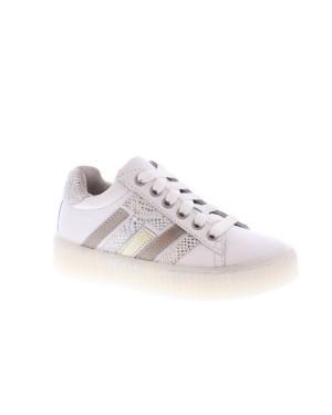 Twins Kinderschoenen 320165 wit zilver
