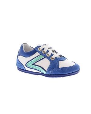 Jochie-Freaks Kinderschoenen 16004 710 Wit blauw