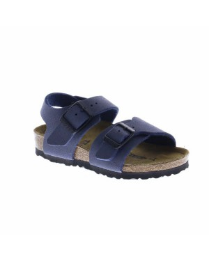 Birkenstock Kinderschoenen New York Blauw Medium