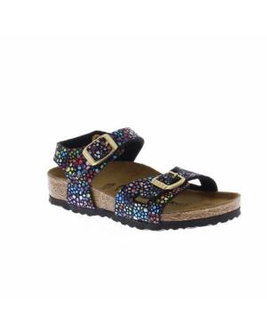 Birkenstock Kinderschoenen Rio Sandaal Zwart Smal
