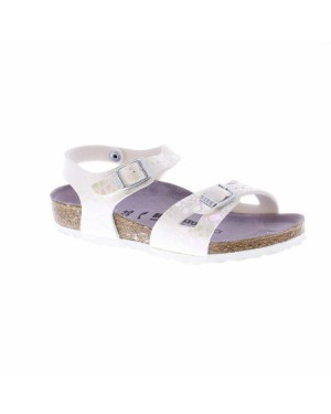 Birkenstock Kinderschoenen Rio Sandaal Wit Smal
