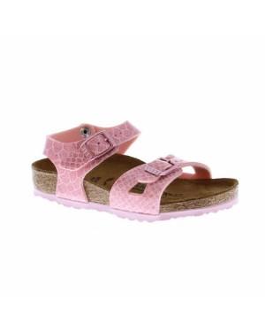 Birkenstock Kinderschoenen Rio Roze Smal