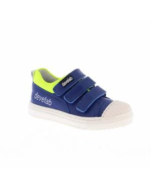 Develab Kinderschoenen 41619 622 Kobalt