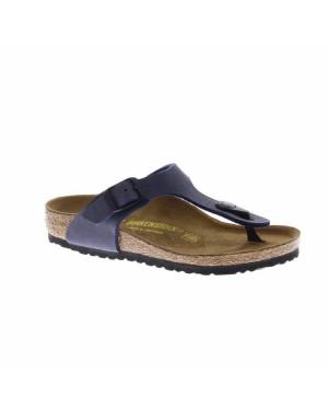 Birkenstock Kinderschoenen Gizeh blauw smal