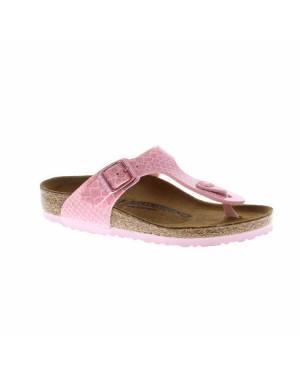 Birkenstock Kinderschoenen Gizeh roze smal