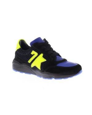 GiGa Kinderschoenen 9840 zwart blauw