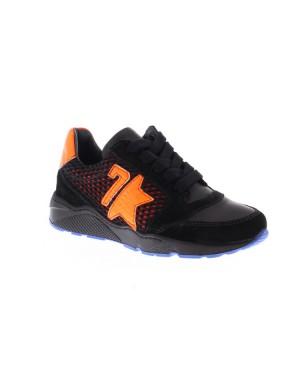 GiGa Kinderschoenen 9840 zwart oranje
