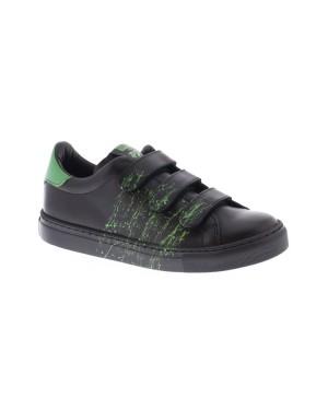 Piedro Kinderschoenen 1117301250 9821 zwart groen