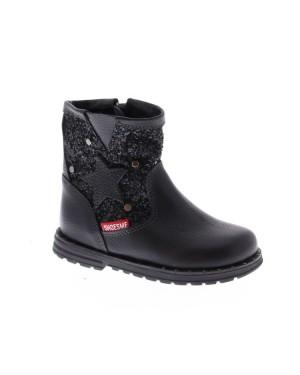 Shoes me Kinderschoenen AE8W072-A zwart