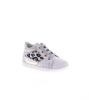 Falcotto Kinderschoenen 1N21 wit print
