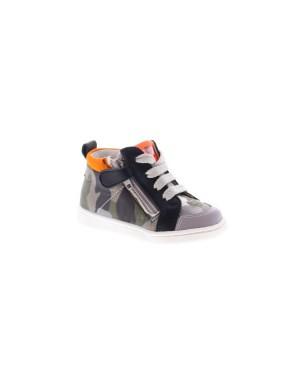 Romagnoli Kinderschoenen 5042 grijs camouflage