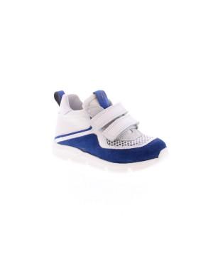 Romagnoli Kinderschoenen 5121 Wit blauw