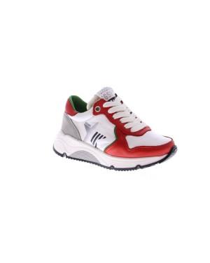 GiGa Kinderschoenen G3398 Wit rood