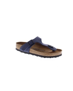 Birkenstock Kinderschoenen Gizeh blauw breed