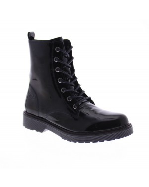 AQA Kinderschoenen A7500 Zwart
