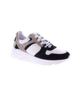 AQA Kinderschoenen A7737 wit zwart