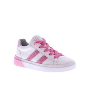 Jochie-Freaks Kinderschoenen 21500 wit roze