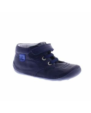 Jochie-Freaks Kinderschoenen 18050 Donker Blauw
