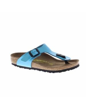 Birkenstock Kinderschoenen Gizeh turquoise smal
