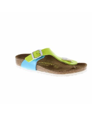 Birkenstock Kinderschoenen Gizeh groen smal