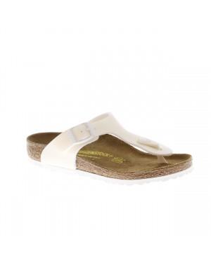 Birkenstock Kinderschoenen Gizeh wit smal