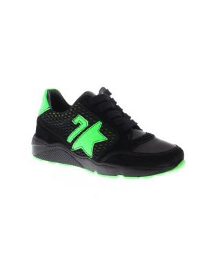 GiGa Kinderschoenen 9840 zwart groen