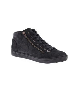 AQA Kinderschoenen A5812 zwart