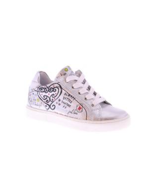 GiGa Kinderschoenen G1031 H36H69 zilver