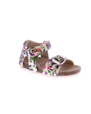 EB Shoes Kinderschoenen 0103A8 A8 wit print