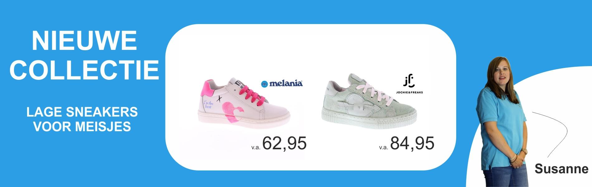 Lage meisjes sneakers