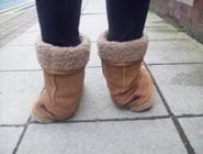Slechte schoenen