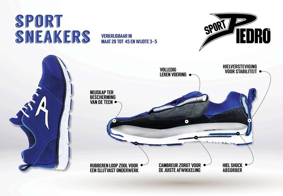 Piedro sport schoenen