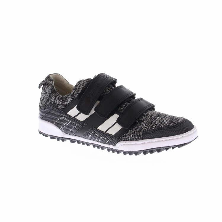 Trackstyle lage schoenen met klittenband