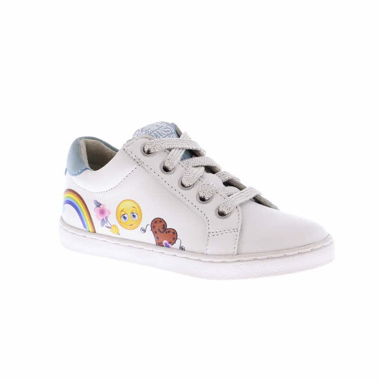 Twins hippe sneakers met patches